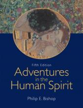 Cover jacket for Adventures in the Human Spirit