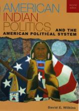 Cover jacket for American Indian Politics and the American Political System