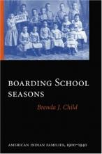 Cover jacket for Boarding School Seasons