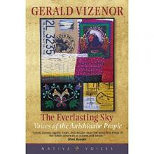 Cover jacket for The Everlasting Sky