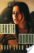 Cover jacket of Lakota Woman