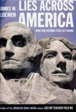 Book cover with partial image of Mt. Rushmore's Washington and Jefferson
